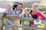 Auslandsreise Familie